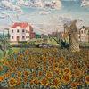 Bayern münchen, Windmühle, Sonnenblumen, Bmw