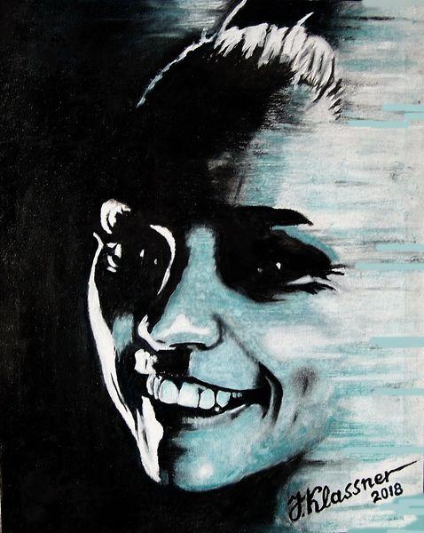 Portrait, Fantasie frau, Malerei
