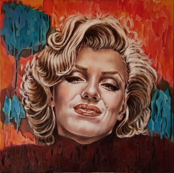 Portrait, Ölmalerei, Acrylmalerei, Malerei,