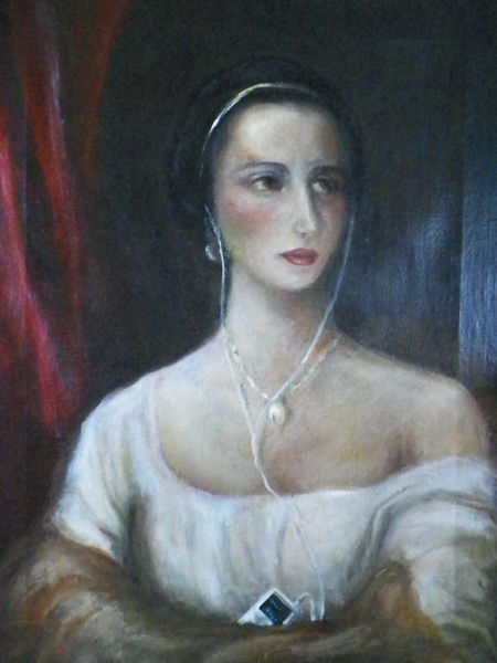 Mp3, Malerei, Dame
