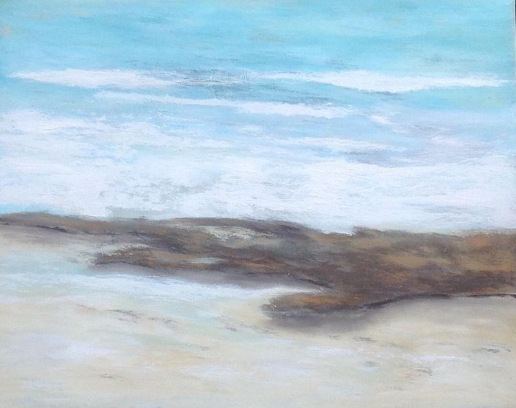 Sand, Türkis, Strandgut, Holz, Wasser, Meer