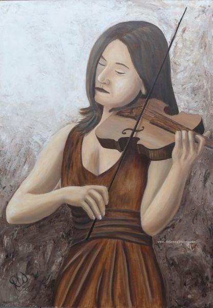 Violine, Klassik, Geige, Musik, Leidenschaft, Malerei