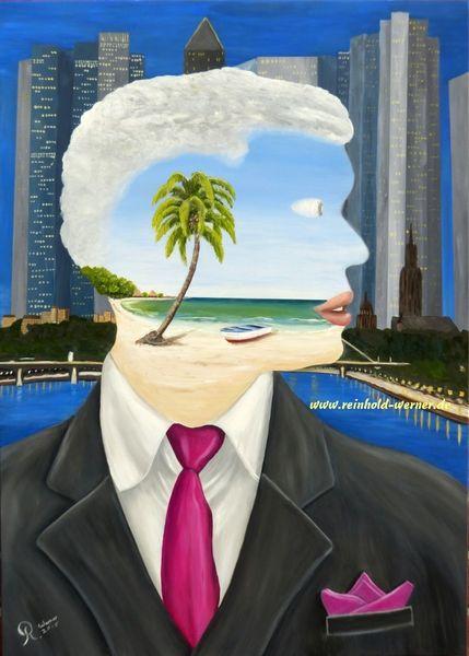 Gelingen, Glück, Erfolg, Traumwelt, Traum, Geschäftsleute