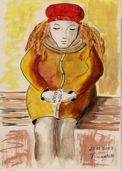 Freizeit, Aquarellmalerei, Aquarell, 2013