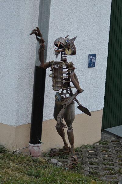 Brenz, Kunst aus schrott, Metallkunst, Steinheim am albuch, Sontheim im stubental, Heidenheim