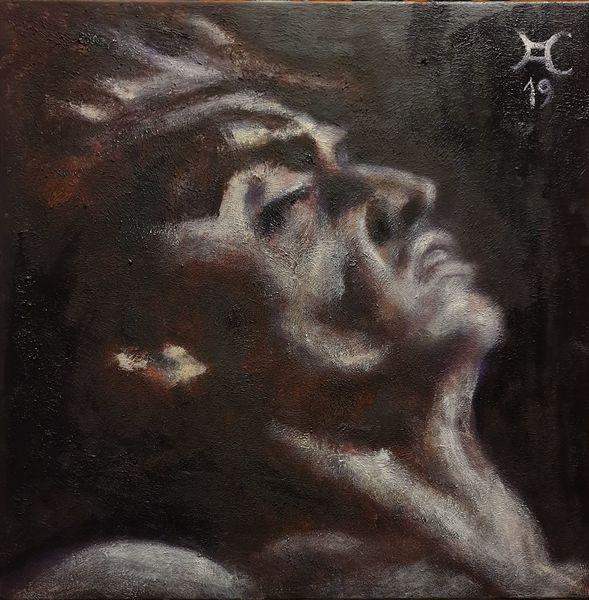 Hell, Dunkel, Passion, Malerei
