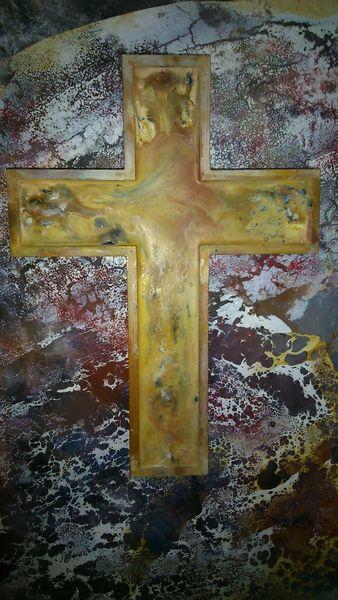 Liebe, Kruzifix, Heil, Enkaustik, Bibel, Wachs