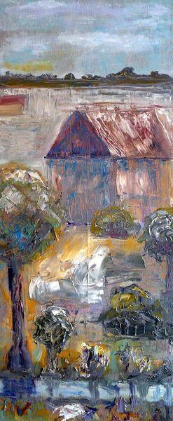 Expressionismus, Ausdruck, Stimmung, Natur, Erde, Haus