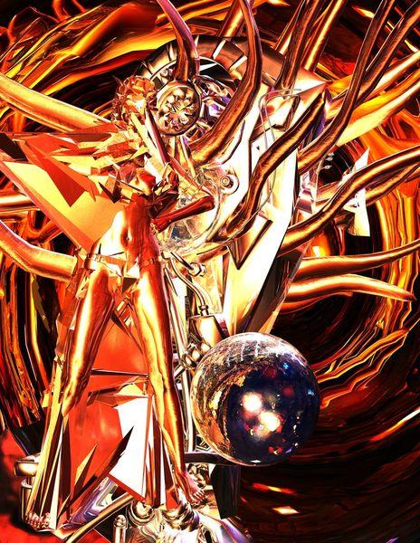 Render, Digital, Fantasie, Sammler moderne kunst, Digitale kunst, Verwirrung