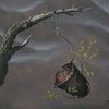 Eimer, Blätter, Verfall, Äste