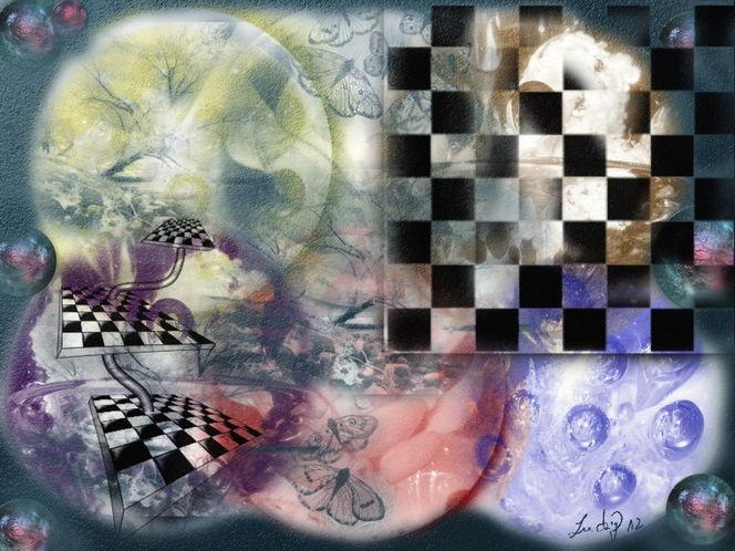 Gedankenwelt, Freie, Malerei