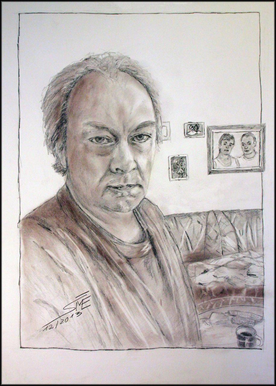 Werke zeichnungen portrait portrait eines stattlichen mannes