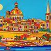 Valletta, Regatta, Malta, Malerei