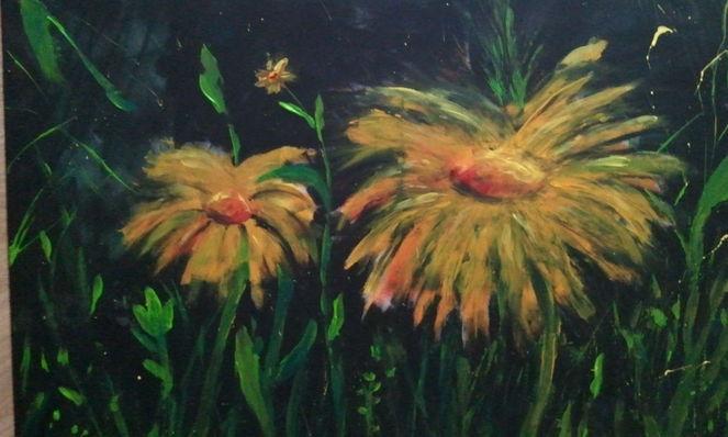 Frühling, Blumen, Malerei