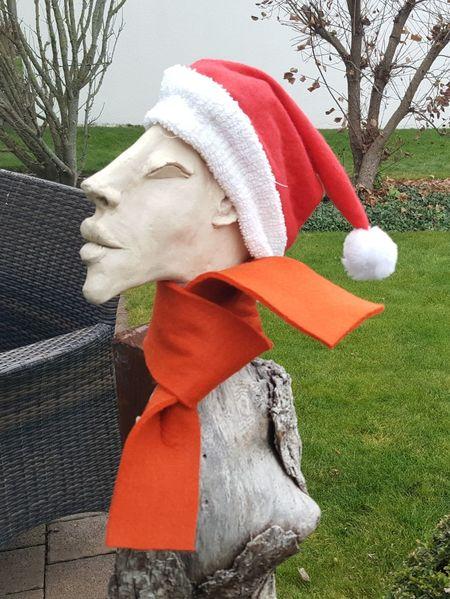 Advent, Profil, Rinde, Weihnachten, Baum, Schal