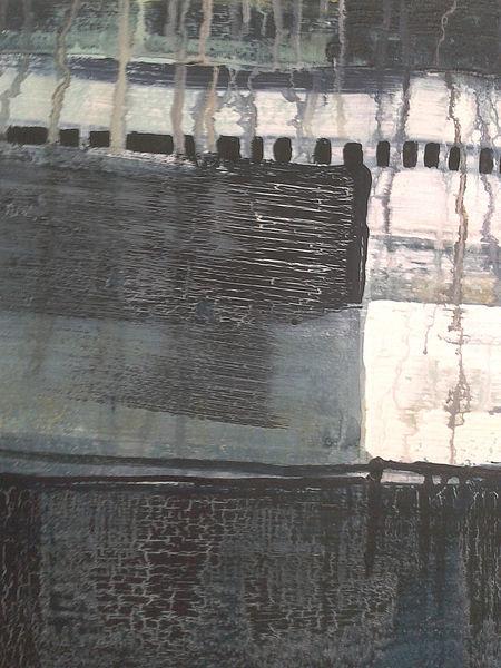 Malerei, Ausschnitt, Wasser