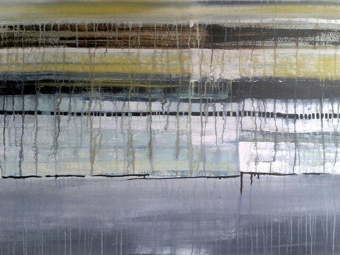 Abstrakt, Farben, Wasser, Schicht, Malerei, Arbeit