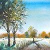 Baum, Kuh, Natur, Weiden