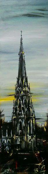 Kathedrale, Kirche, Mariendom, Dom, Linz, Malerei