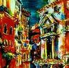 Venedig, Wasser, Gondel, Städtchen