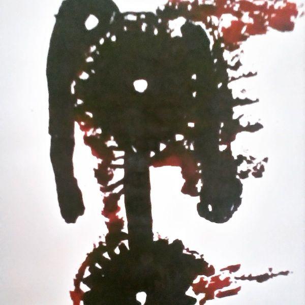 Schmerz, Menschen, Herz, Malerei
