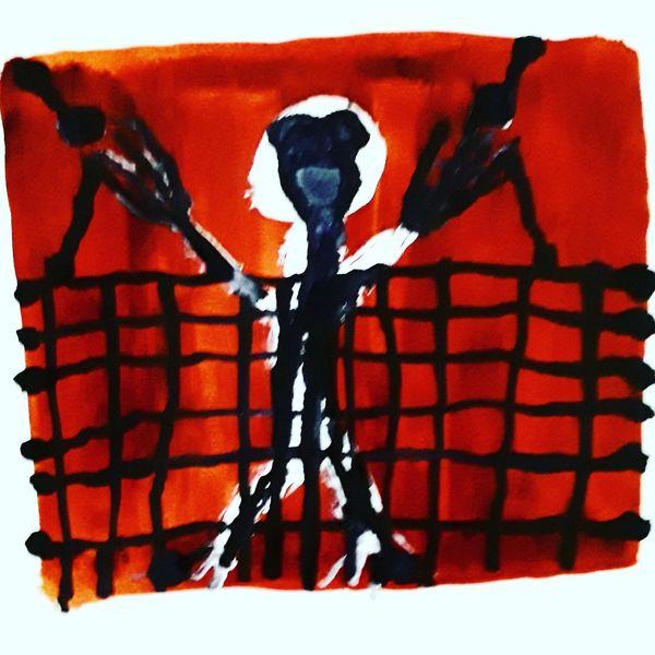 Artbrut, Outsider art, Kunst und psychiatrie, Malerei, Gefangen