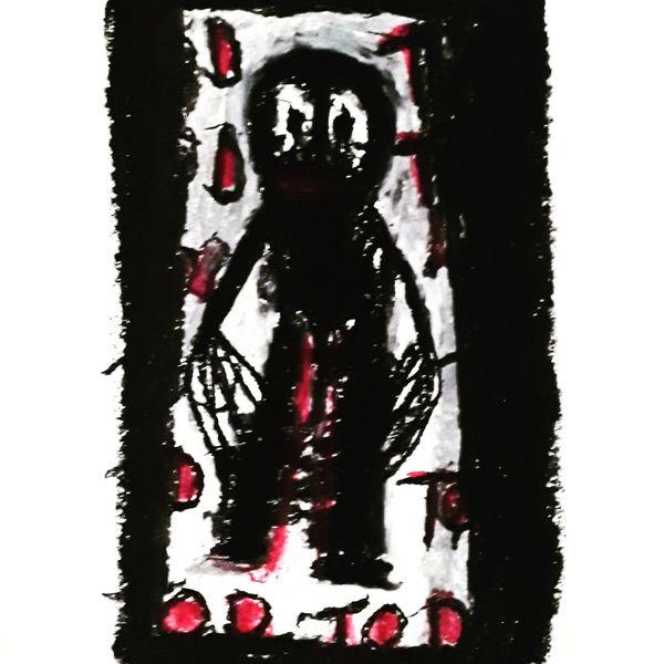 Psychiatrie, Outsider art, Artbrut, Malerei, Tod