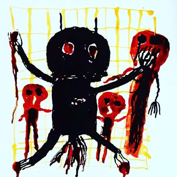 Outsider art, Psychiatrie, Artbrut, Psych, Malerei,