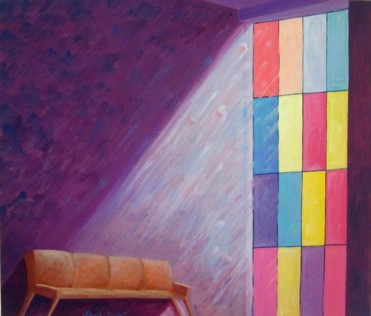 Bild malerei architektur interieur licht von biagiotti for Interieur licht