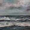 Landschaft, Meer, Wolken, Welle