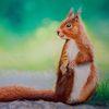 Tiermalerei, Tiere, Malerei, Pastellmalerei