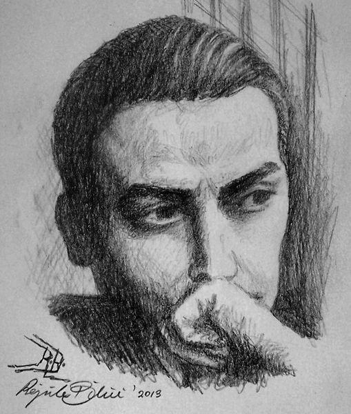 Heppner, Portrait, Zeichnungen,