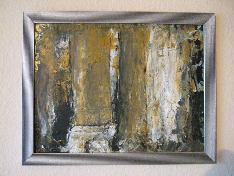 Abstrakte bäume, Malerei