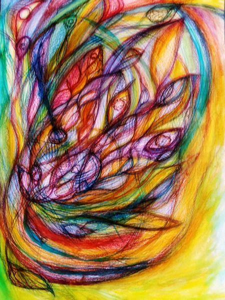 Tuschmalerei, Formen, Schicht, Aquarellmalerei, Frei, Zeichnung