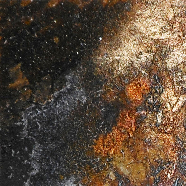 Pigmente, Abstrakt, Mischtechnik, Rost