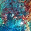 Farbrausch, Abstrakte malerei, Malerei