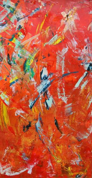 Feuerwerk, Partei, Bunt, Abstrakt, Malerei,