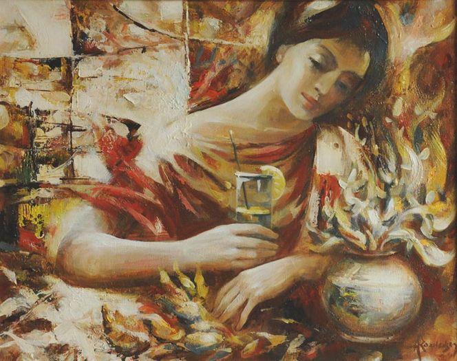 Suche, Liebe freunde, Malerei, Siesta,