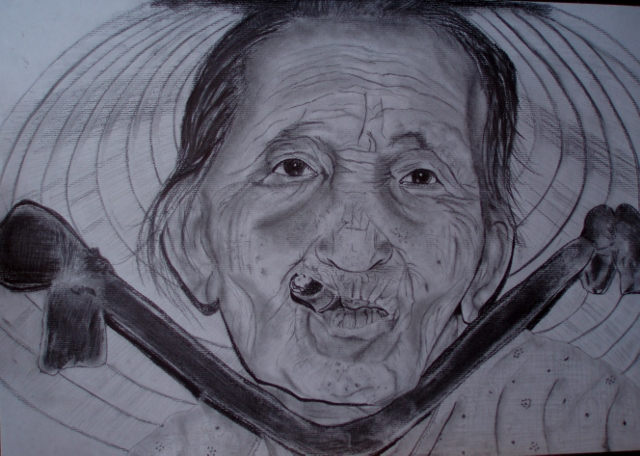 Gesicht zigarre, Zeichnungen