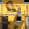 Wandmalerei, Tiere, Löwe, Malerei