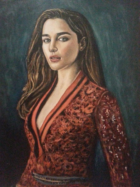 Portrait, Malerei, Ölmalerei, Fanart, Gefühl, Frau