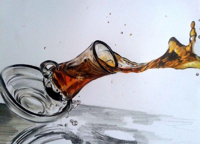 Tee, Zeichnungen