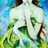 Mädchen, Natur, Floressa, Gestalt