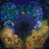 Fantasie, Blüte, Farben, Surreal