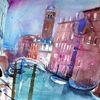 Kanal, Italien, Venedig, Kirche