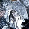 Buntstiftzeichnung, Ölmalerei, Roger waters, Studie