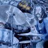 Trommel, Ölmalerei, Zabriskie, Pink flyds drummer