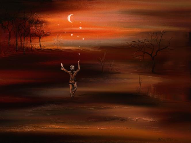 Baum, Fantasie, Wald, Surreal, Traum, Virtuell