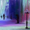 Spaziergang, Fantasie, Laterne, Menschen