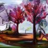 Malerei, Fantasie, Sohn, Vater